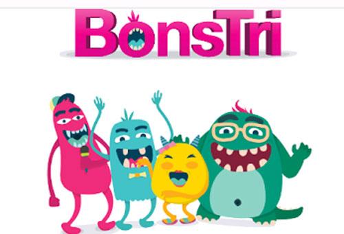 BONSTRI : Inilah 4 karakter yang memikat kamu Bray, Odut. Unyit dan Emot.  Mereka akan kamu dapatkan setiap kali kamu isi ulang pulsa kartu TRI. Gambar Internet