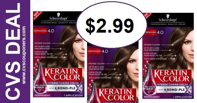 CVS Deal Schwarzkopf Hair Color 6-23 6-29