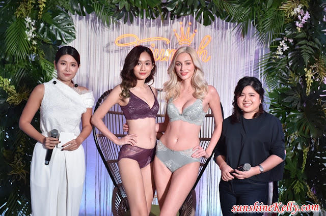 Triumph Autumn Winter 2020,  New Fit Smart, Aqua Finesse, Aqua Rosie, Sculpt Rosanne, Astra Embroidery, Triumph Malaysia, Lingerie, Fashion