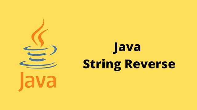 HackerRank Java String Reverse problem solution