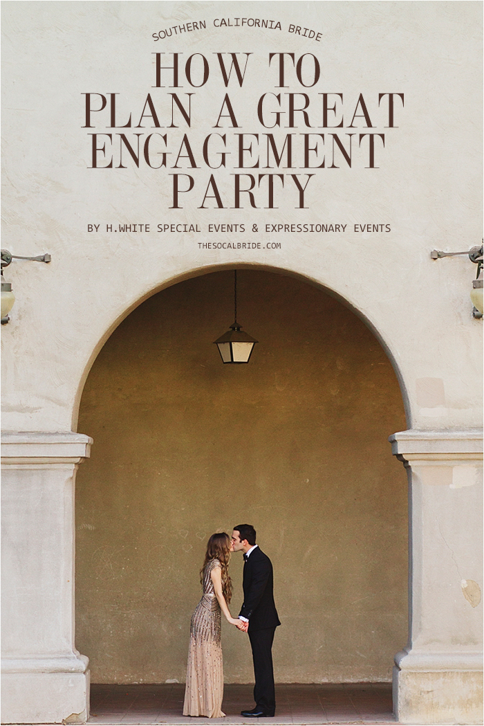 Great tips on planning an engagement party!