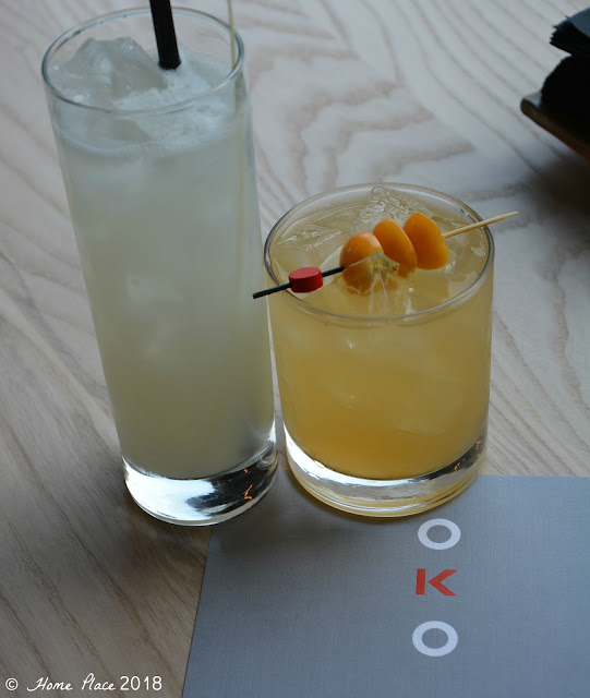 OKO Restaurant Cocktails, One Knight Only & Loosey Goosey