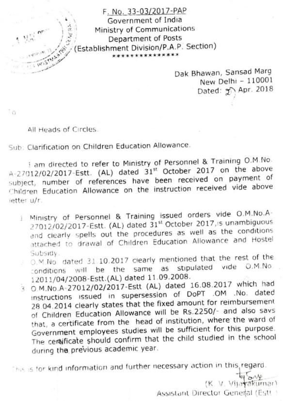 CEA-Clarification-order-dop