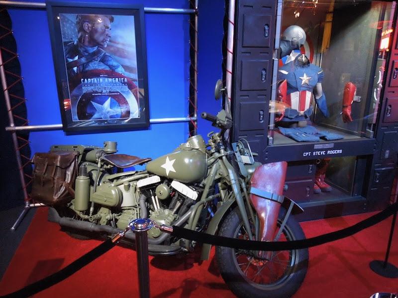 Steve Rogers Captain America First Avenger motorcycle