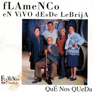 """""""Flamenco en vivo desde Lebrija"""" -Qué nos queda- Antonio Moya Senador-Flamenco & Duende 2.000"""