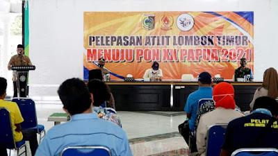 Lotim Lepas 10 Atlet ke PON XX Papua 2021