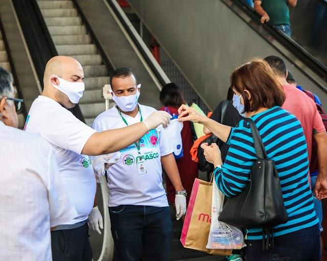 GDF vai distribuir máscaras laváveis e reutilizáveis para passageiros de transporte público do DF