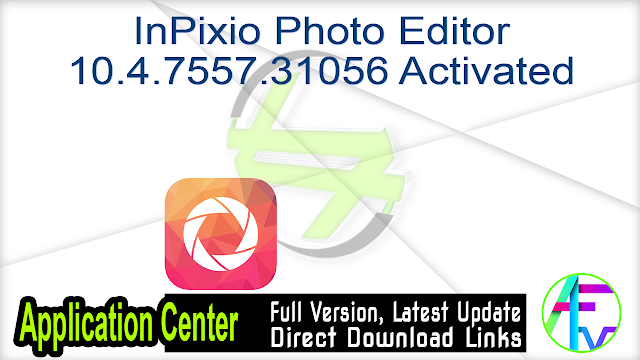 InPixio Photo Editor 10.4.7557.31056 Activated