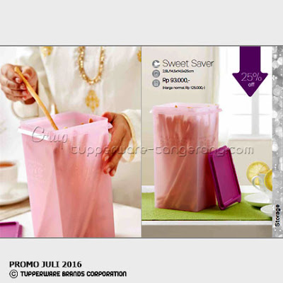 Sweet Saver ~ Katalog Tupperware Promo Juli 2016