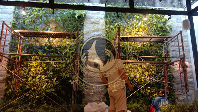 Tukang taman vertical surabaya