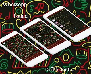 IOS Theme For YOWhatsApp & Fouad WhatsApp By Driih Santos