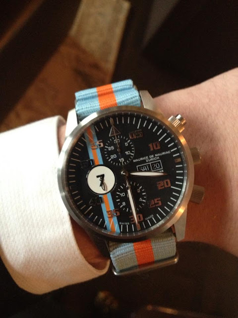 Gulf Racing Inspired Watches