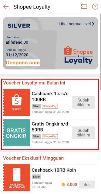 Cara Mendapat Voucher Gratis Ongkir Shopee