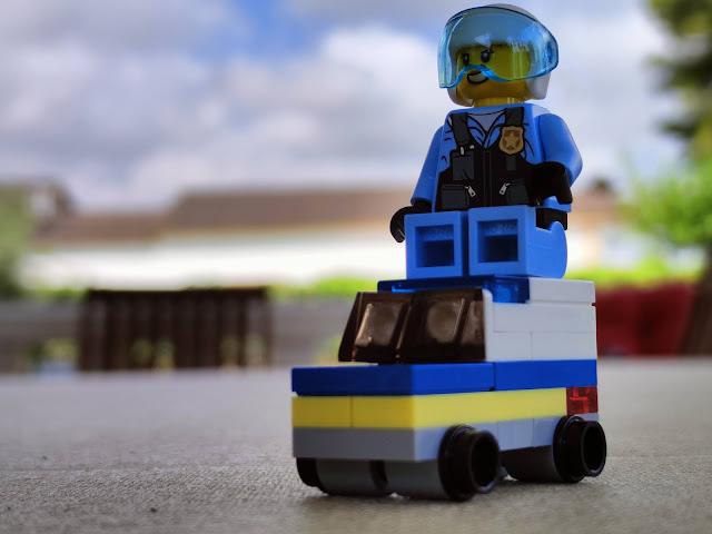 Lego city furgón mini
