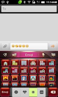 เพิ่มสีสันในการพิมพ์ สไตล์ Go keyboard Emoji น่าใช้   all new androd app