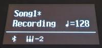 ES520 song recording