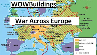 War Across Europe 3D Print STL files, Kickstarter from WOW Buildings