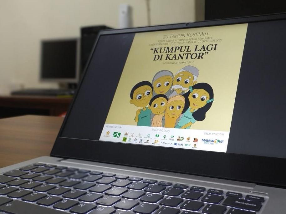 Press Release Reuni Akbar Alumni KeSEMaT 2021