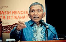 Amien Rais: Nama Jokowi Jadi Buruk Jika Lindungi Ahok