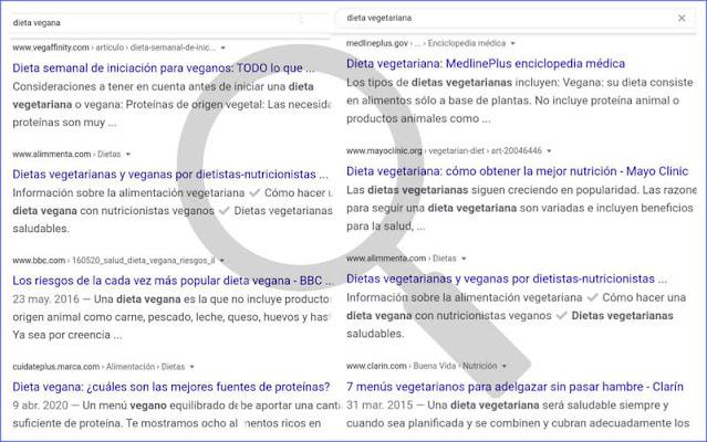 Internet es una de las principales fuentes para elaborar dietas de vegetarianos y veganos