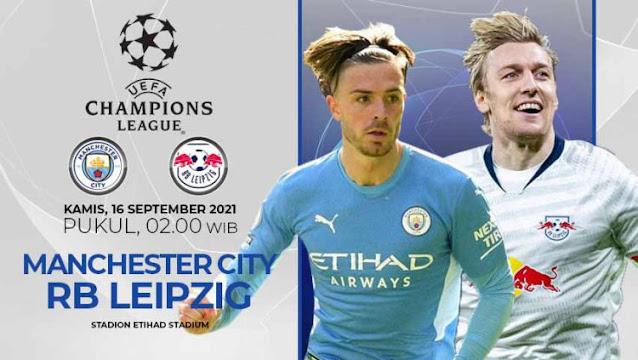 Prediksi Manchester City Vs RB Leipzig