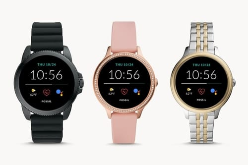 Fossil Generation 5E comes with Wear OS