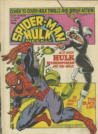 Spider-Man and Hulk Weekly #389, the Black Cat