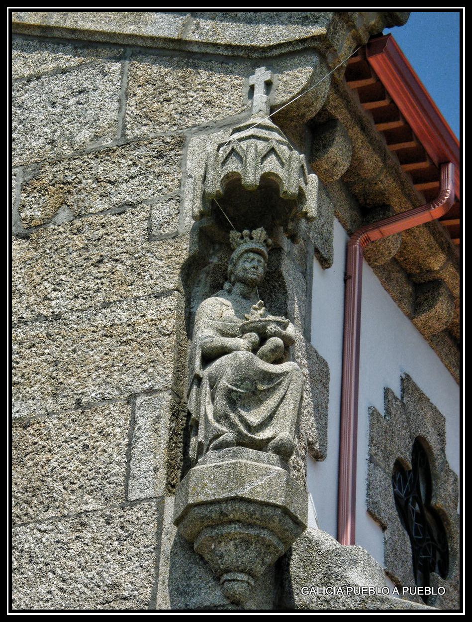 discreto Virgen pequeña en Vigo