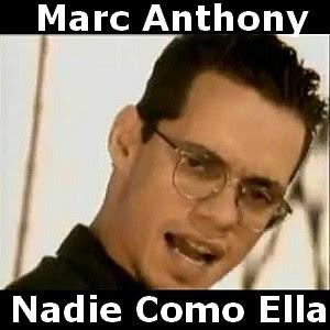 Letra y acordes de Marc Anthony - Nadie Como Ella