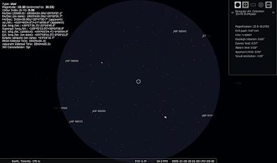 Saturn and Jupiter in binoculars Nov 30