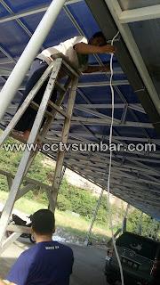 Pemasangan dan Maintenance CCTV di SIMPANG HOME CENTRE - Sawahlunto