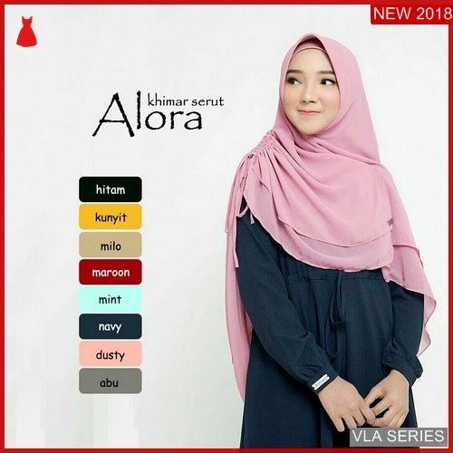 VLA060A93 Model Khimar Alora Serut Murah BMGShop