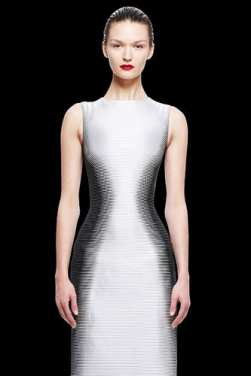 In Fine Feather Trend Alert Optical Illusion Dresses