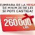 Concurs Mega Image - Castiga un premiu in valoare de 260.000 lei
