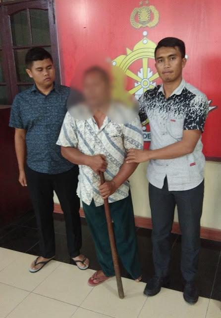 Setubuhi Anak Tiri, Lasron Sihombing Diamankan Polisi