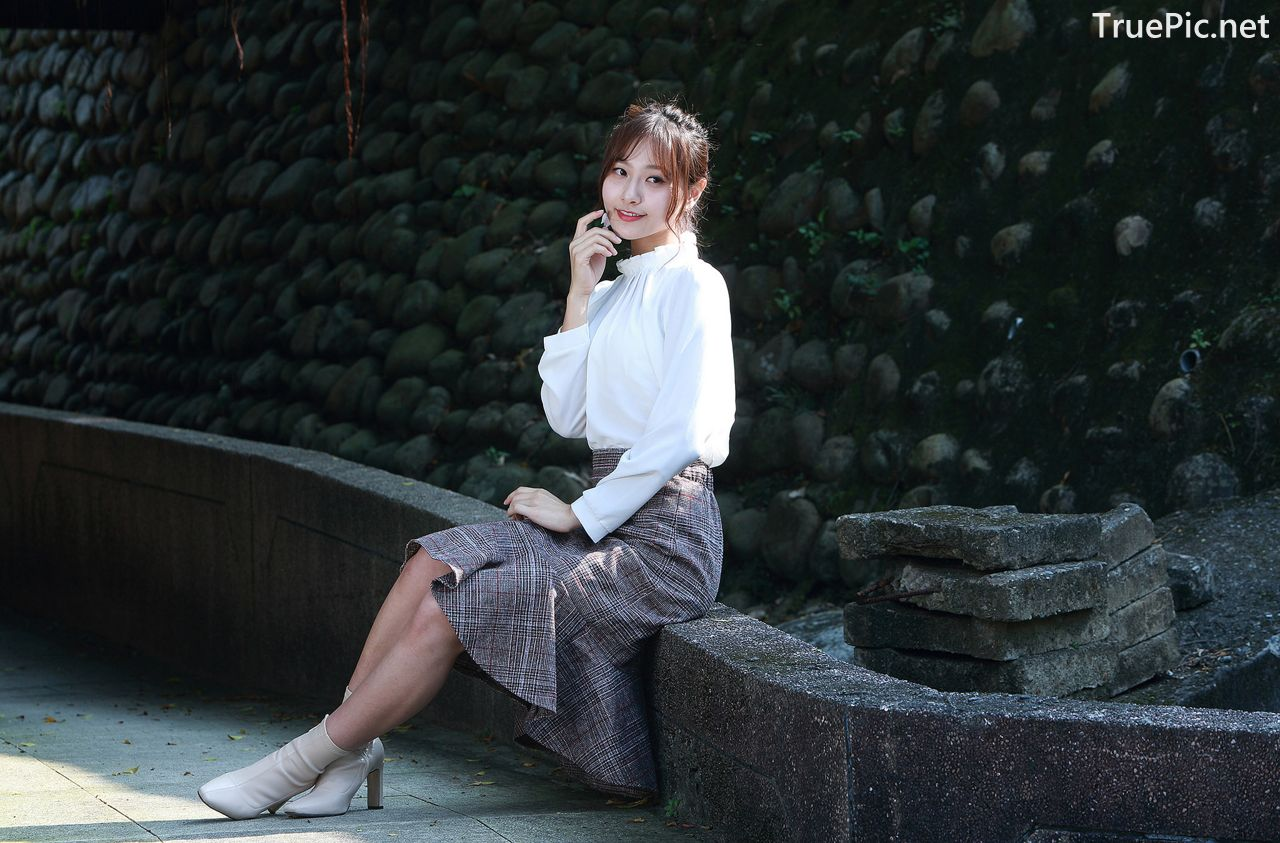 Image-Taiwanese-Model-郭思敏-Pure-And-Gorgeous-Girl-In-Office-Uniform-TruePic.net- Picture-7