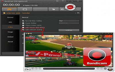 Bandicam - Logiciel Capture Vidéo sur Windows