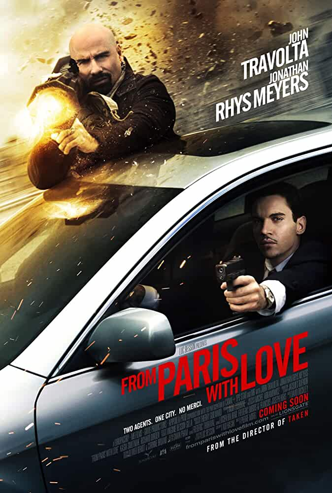 From Paris with Love 2010 720p 950MB BRRip