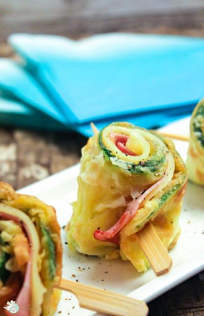 Fingerfood mit Zucchini