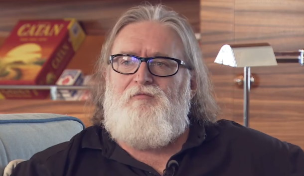 Gabe Newell: Valve is developing the games we're going to announce