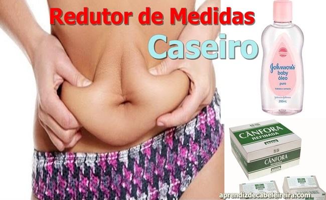 ÓLEO REDUTOR DE MEDIDAS CASEIRO EFICAZ