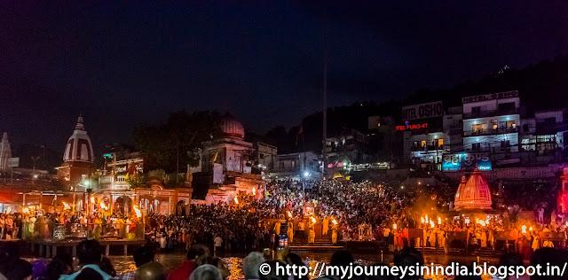 Ganga Aarti Har-Ki-Pauri Haridwar