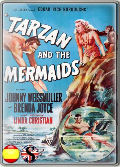 Tarzán y Las Sirenas (1948) HD 1080P ESPAÑOL/INGLES