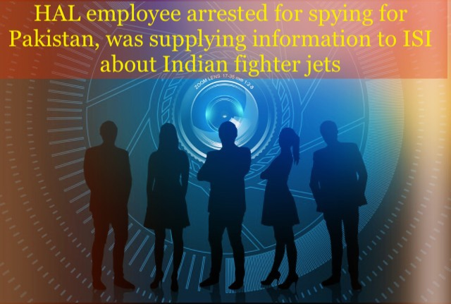 ATS arrest HAL employee