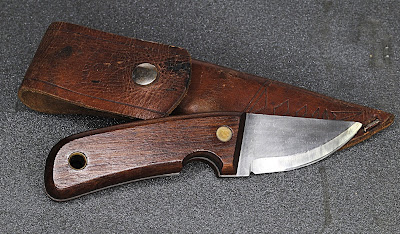 As found Marttiini Explorer, fixed blade