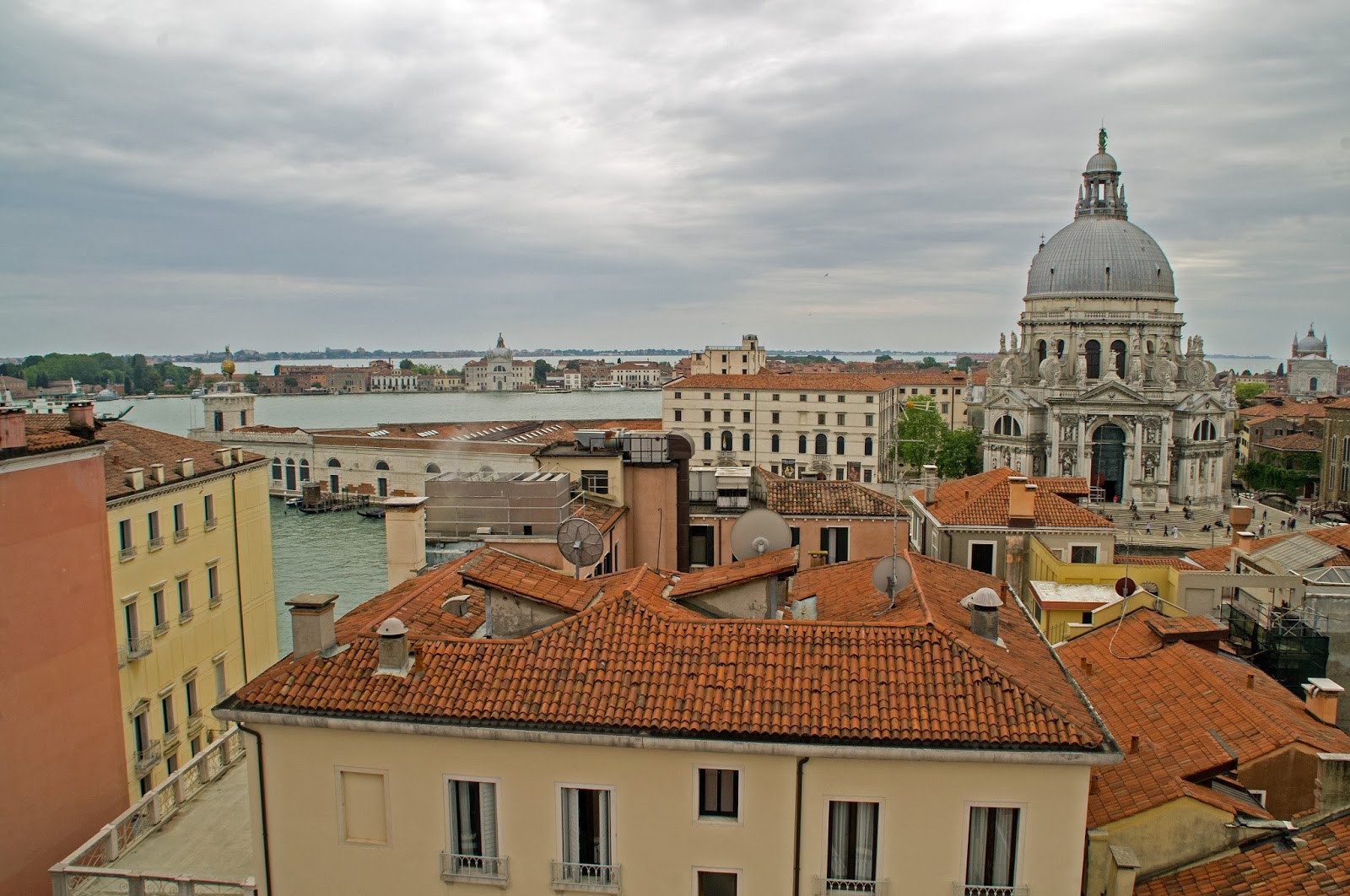 Westin Europa & Regina Venice Views from rooftop terrace