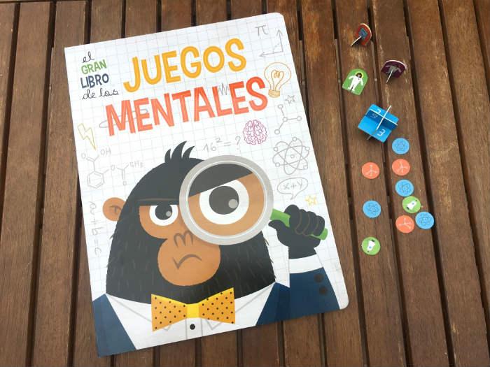 El gran libro de los juegos mentales, con tableros de juegos de mesa y fichas