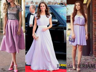 tendencia lilas vestidos