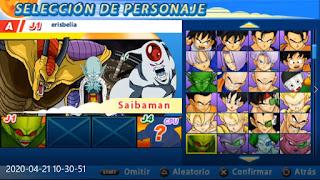 New ISO (MOD) Dragon Ball Tenkaichi Tag Team + Menu Editado Para Android (PPSSPP)