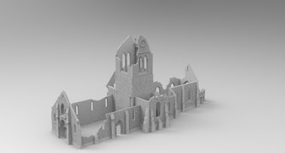 STRETCH GOAL £5500 OPENED LARGE CHURCH RUIN (wip) picture 2